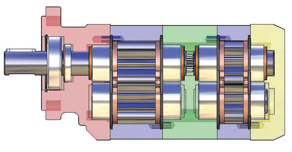 GPM 3D Drawing of a Gear Pump-3