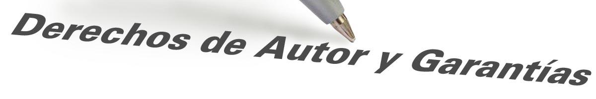 Derechos de Autor y Garantía