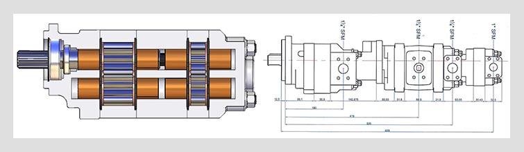 GPM pump design drawings