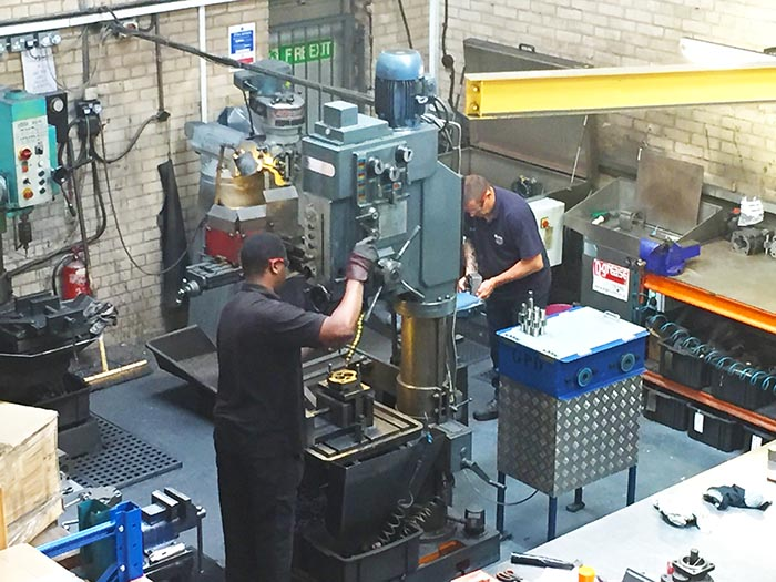 GPD Factory Technicians and Machinery